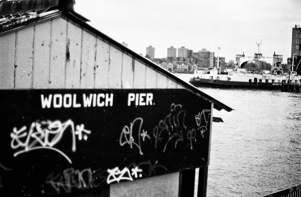 Woolwhich Pier, London 1990s