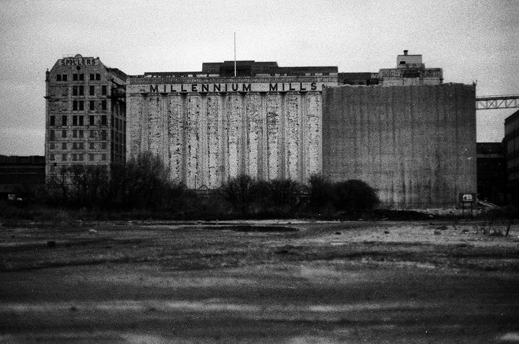 Millenium Mills, Silvertown, London, 1990s