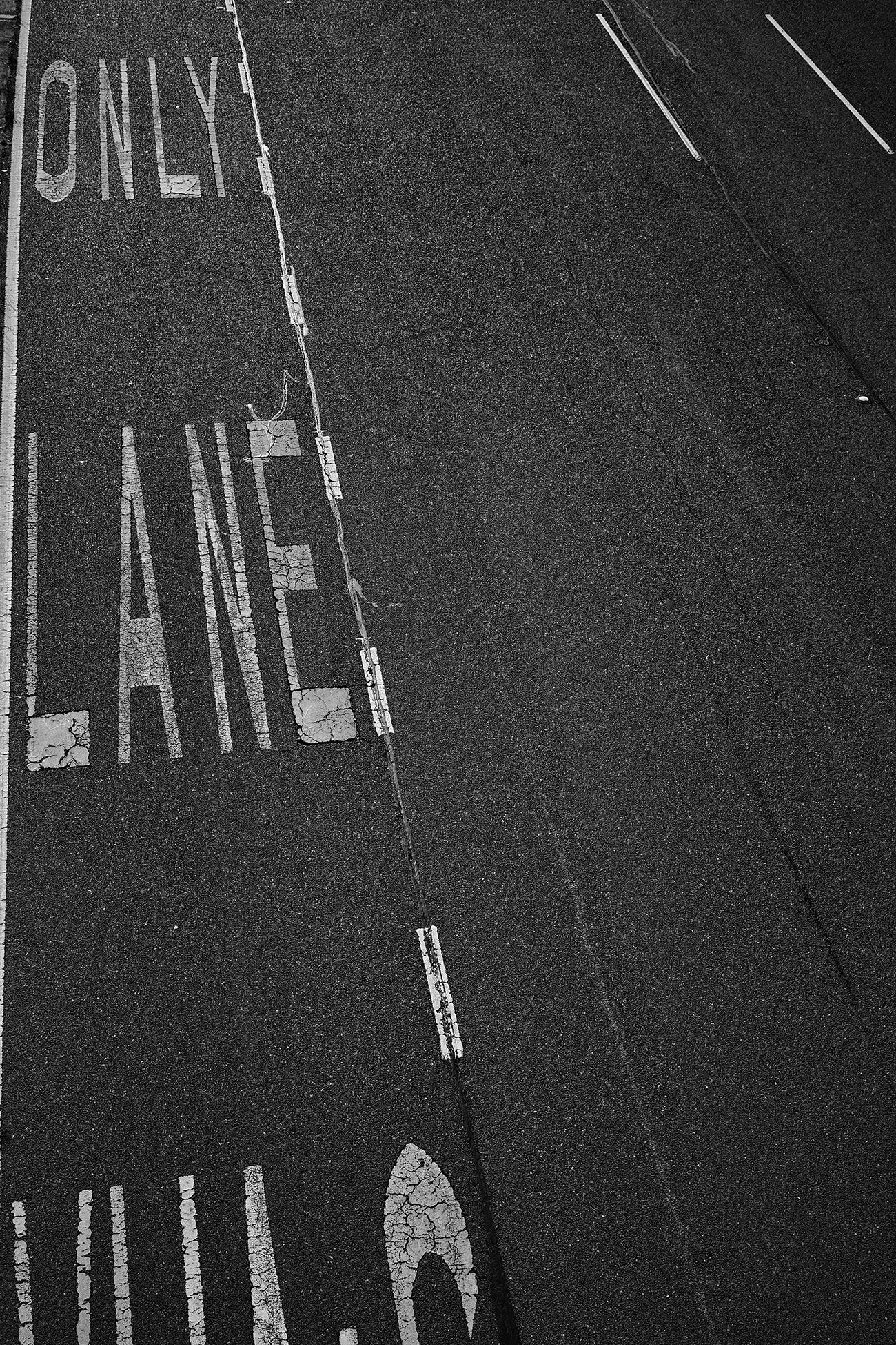 Motorway lane