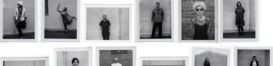 instant black and white photos